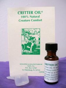 """""""Critter Oil 1/2 oz """""""